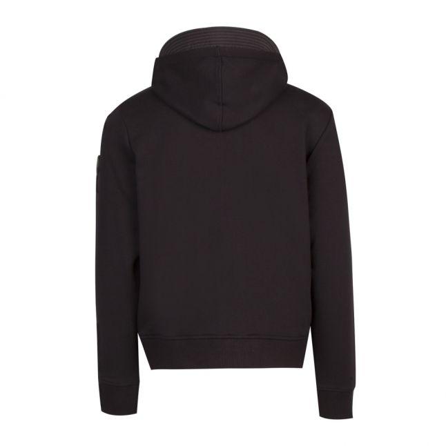 Mens Black S-Bella Hooded Jacket