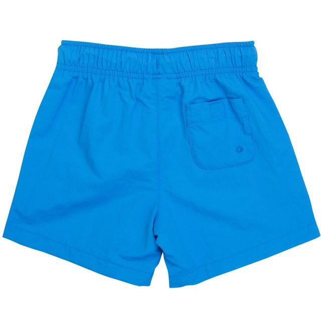 Boys Turquoise Branded Swim Shorts