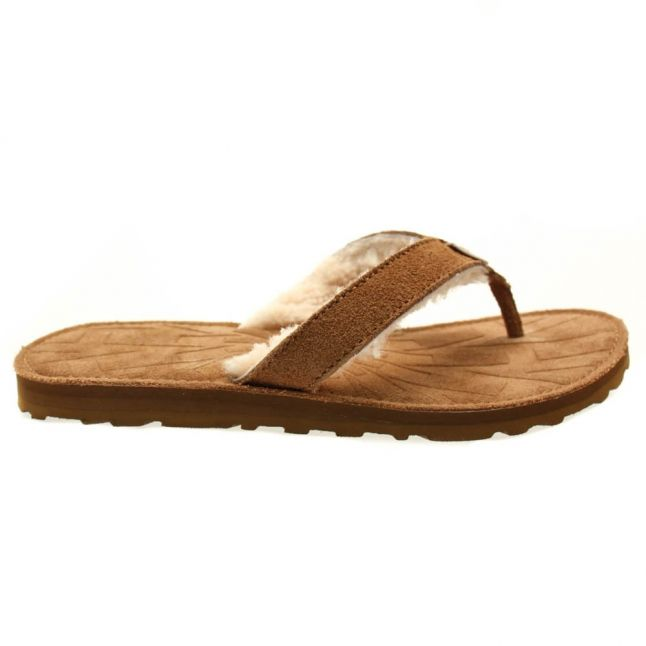 Kids Chestnut Tasmina Flip Flops (1-5)