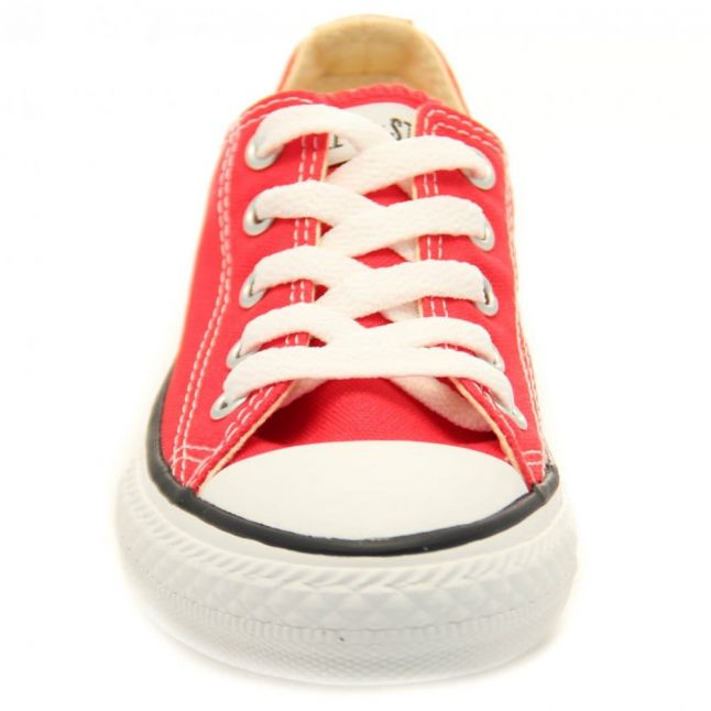 Youth Red Chuck Taylor All Star Ox (10-2)