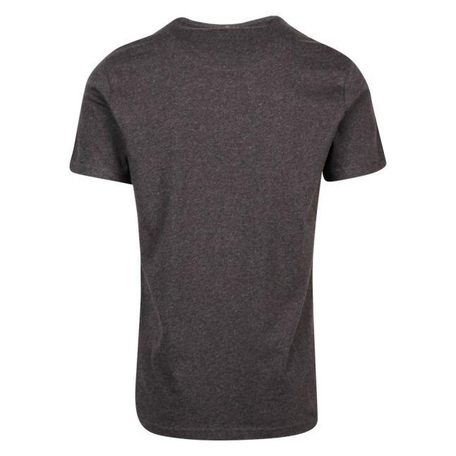 Mens Dark Grey Small Logo S/s T Shirt