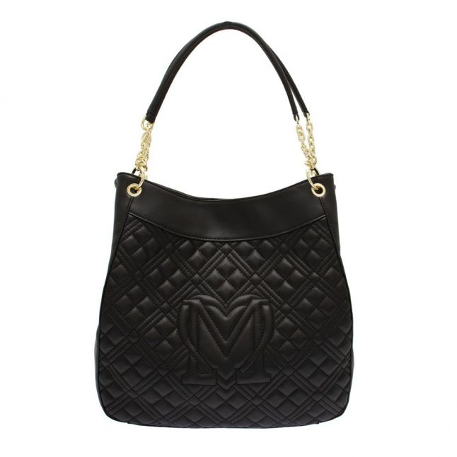 Womens White Diamond Quilted Tote Bag