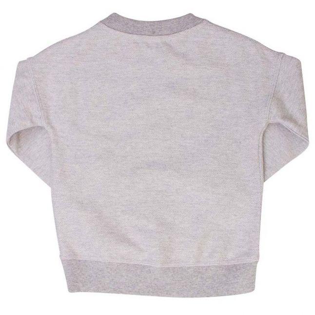 Girls Light Marl Grey Bertille Sweat Top