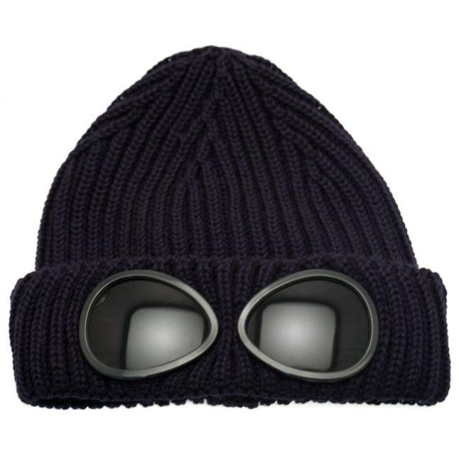 Boys Dark Blue Goggle Hat