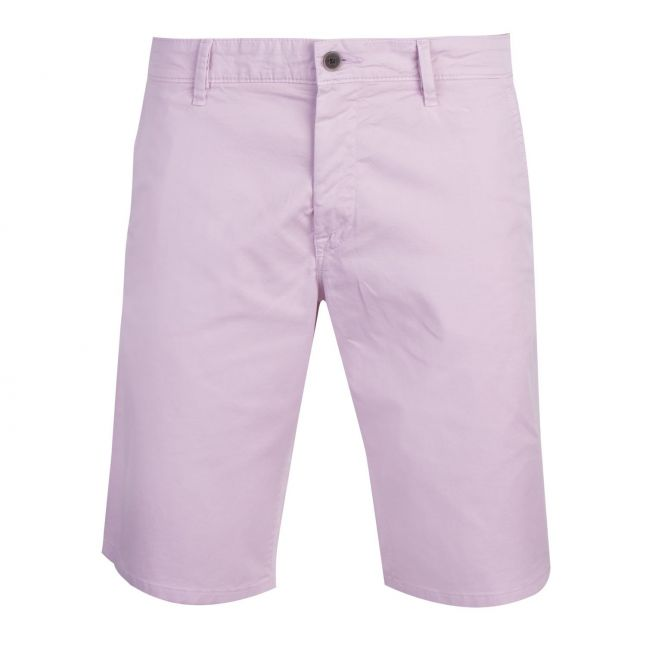 Casual Mens Pink Schino-Slim Fit Shorts
