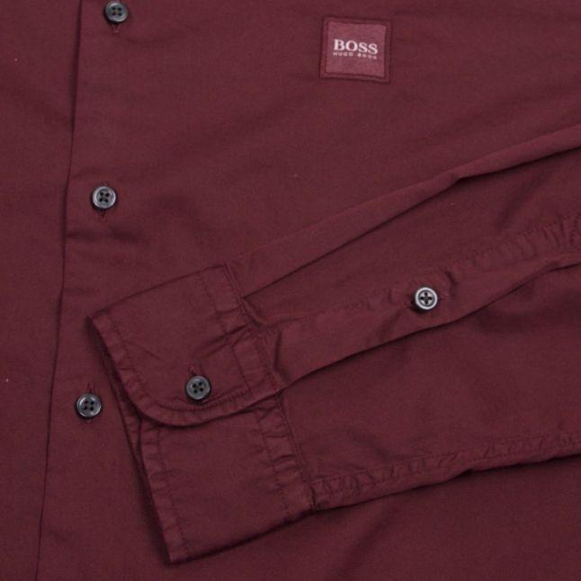Casual Mens Burgundy Mypop_2 L/s Shirt