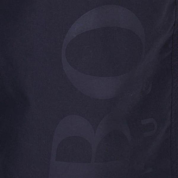 Mens Black Orca Tonal Logo Swim Shorts