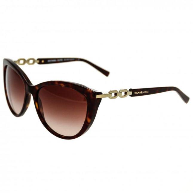 Womens Dark Tortoise Gstaad Sunglasses