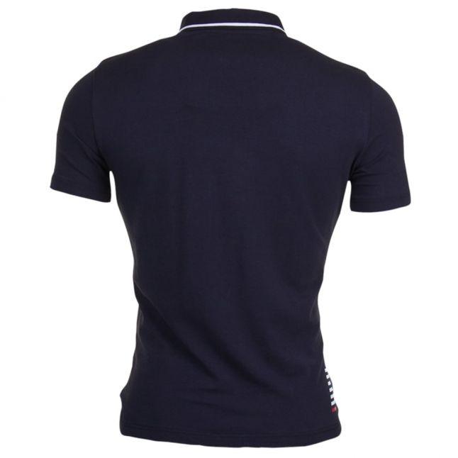 Mens Night Blue Train Core ID S/s Polo Shirt