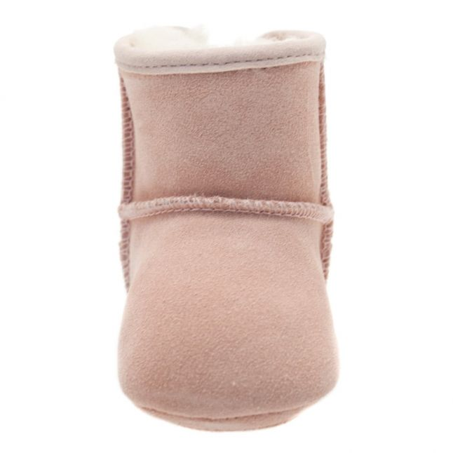 Infant Baby Pink Jesse Bow Booties (XS-S)