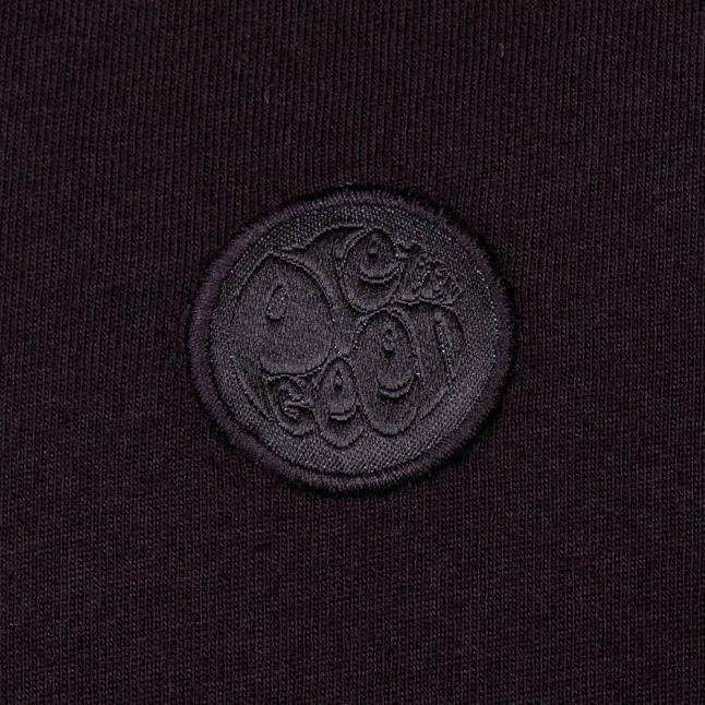 Mens Black Turner Paisley Trim S/s Polo Shirt