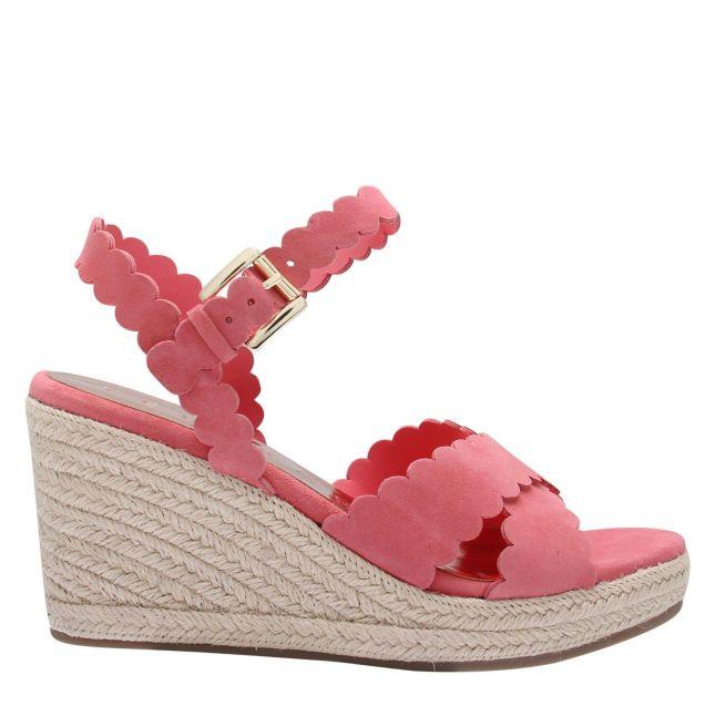 Womens Pink Selanas Espadrille Wedges