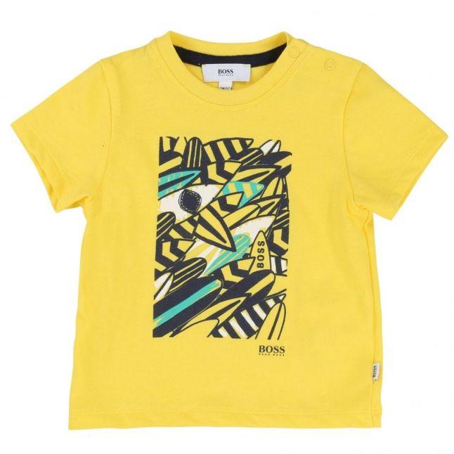 Baby Yellow Surf S/s Tee Shirt