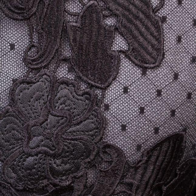 Womens Black Linda Dress