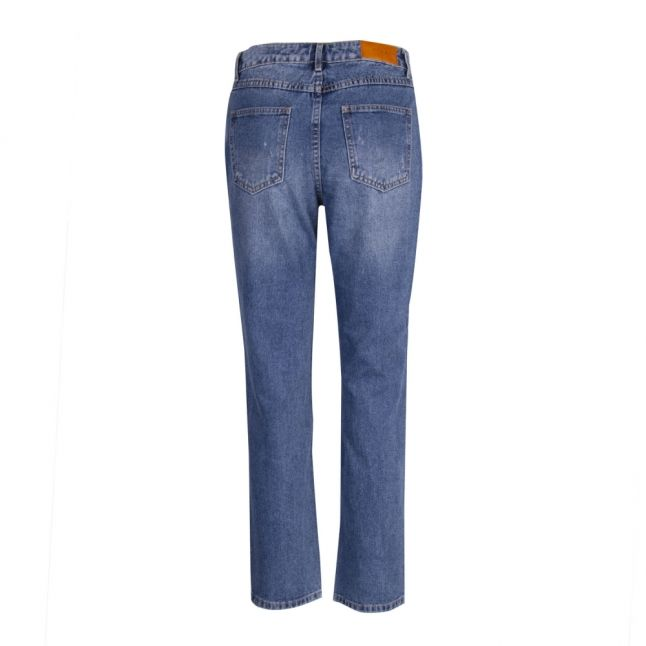 Womens Medium Blue Viannabel 7/8 Fit Jeans