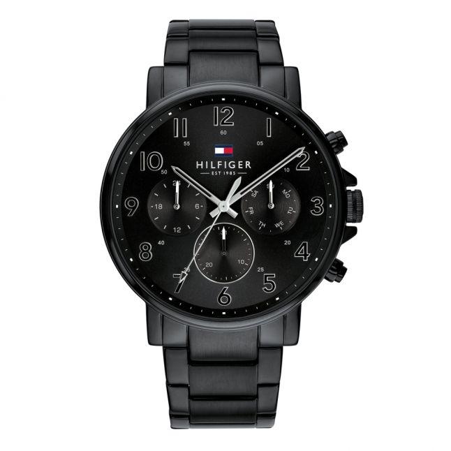 Mens Black Daniel Bracelet Watch