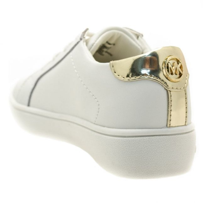 Girls White Zia Ivy Irving-T Trainers (23-30)