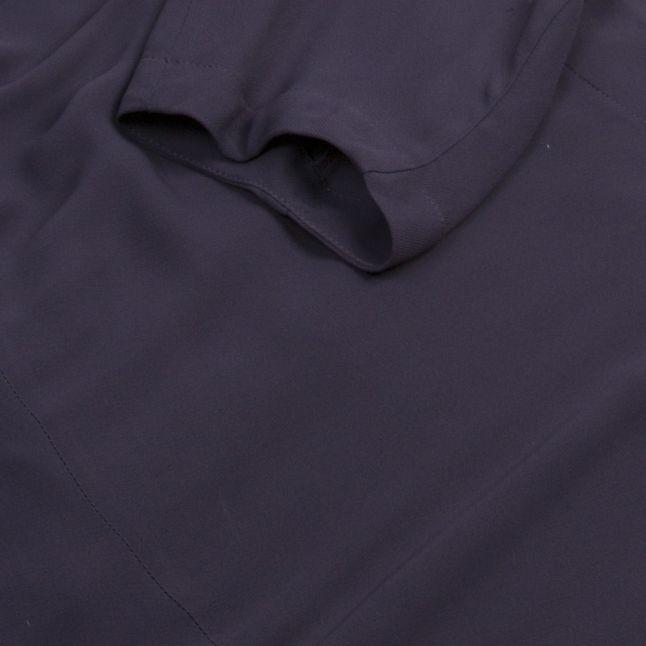 Anglomania Womens Navy Bale Dress