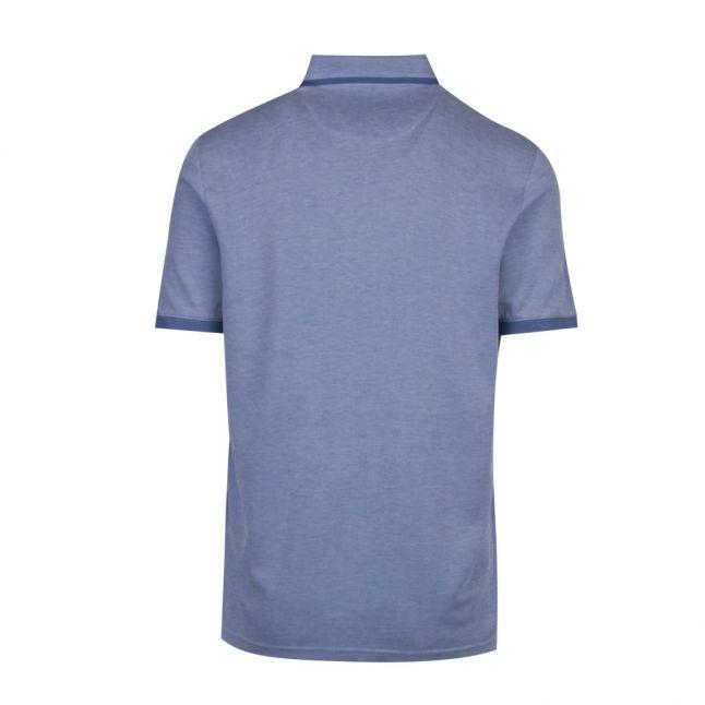 Mens Bright Blue Jakturc Soft Touch S/s Polo Shirt