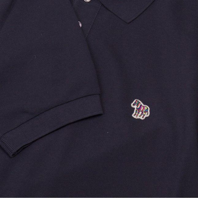 Mens Dark Navy Classic Regular Fit S/s Polo Shirt