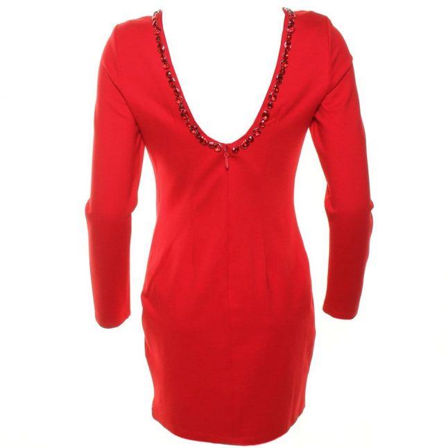 Womens Red Gwyneth Dress