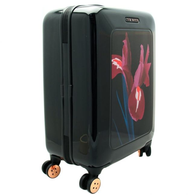 Womens Stencilled Stem Small Hard Suitcase