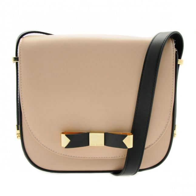 Womens Taupe Brontie Bow Cross Body Bag