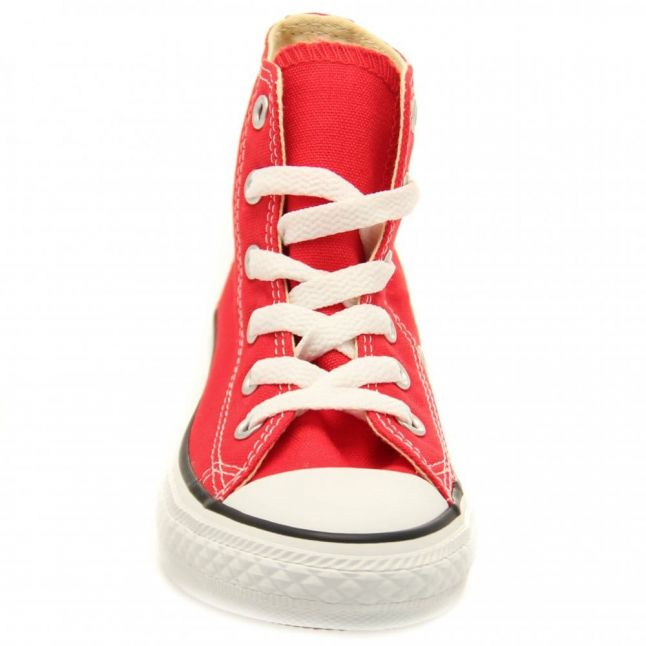 Youth Red Chuck Taylor All Star Hi (10-2)