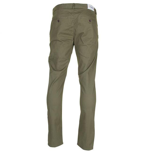 Mens Military Green Elm Chino Twill Pants