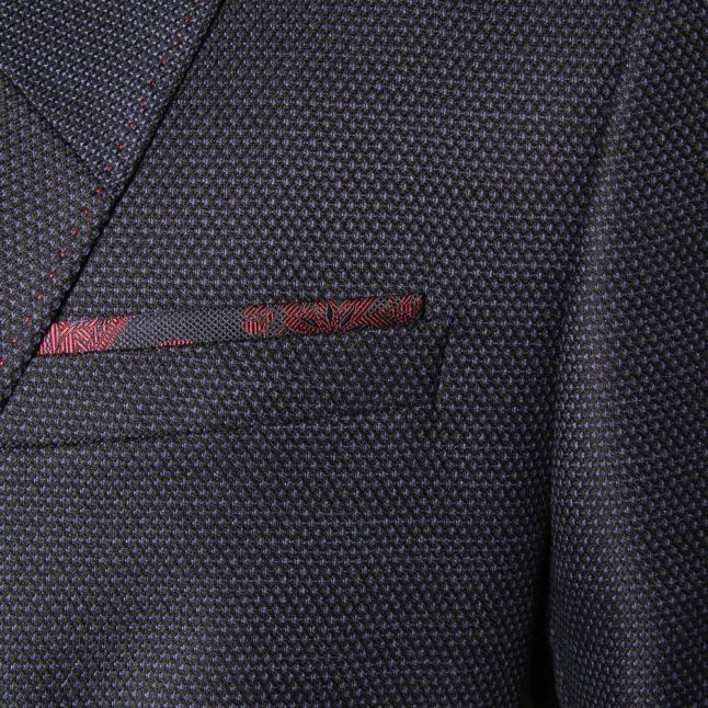 Mens Blue Oneida Wool Blazer