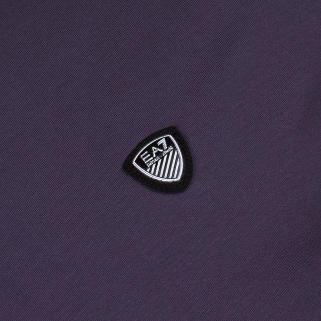 Mens Anthracite Train Core Shield L/s Tee Shirt