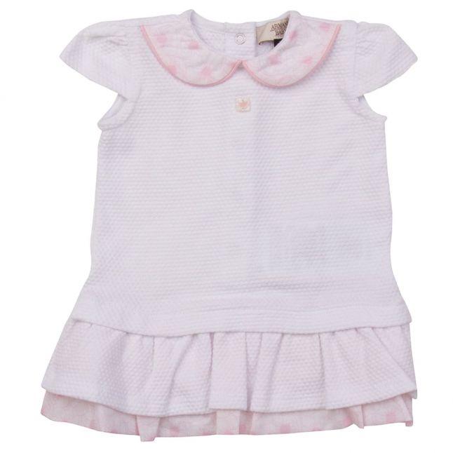 Baby White Dress Romper