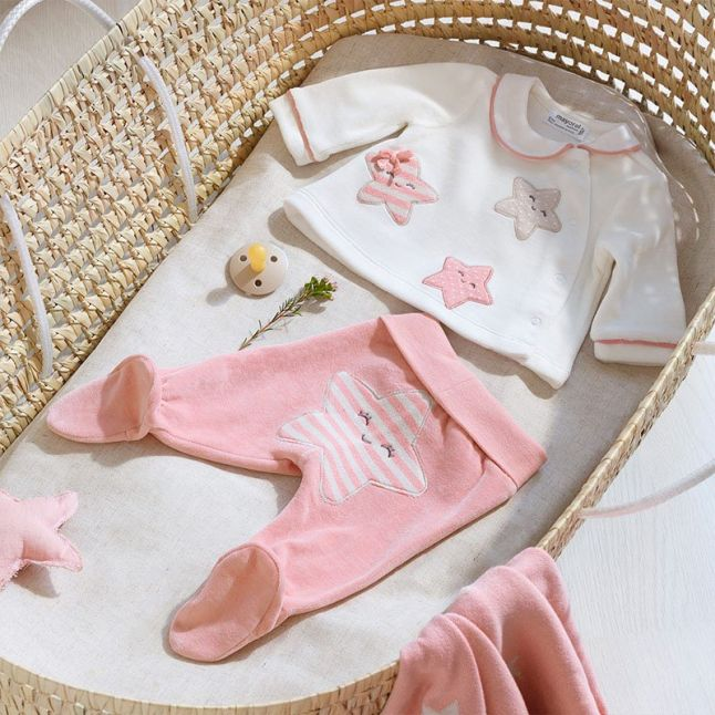 Baby Blossom Soft Star Babygrow