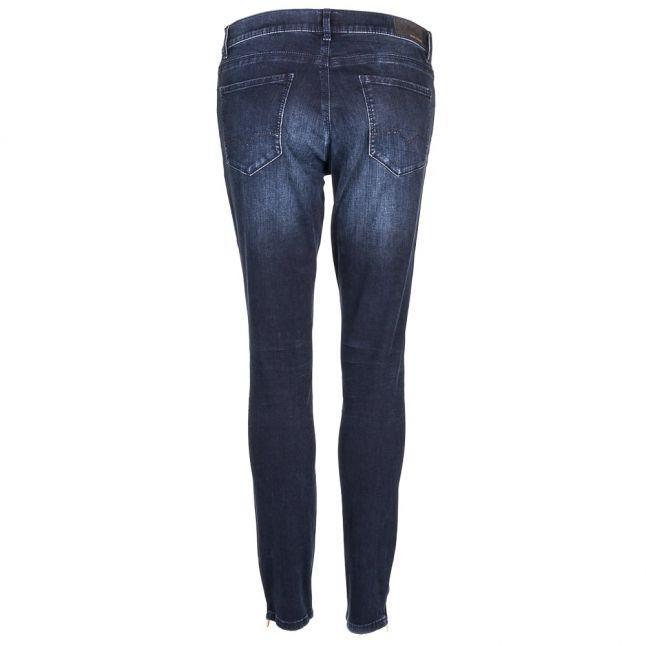 Womens Dark Blue Wash J10 Irvine Coated Slim Fit Jeans