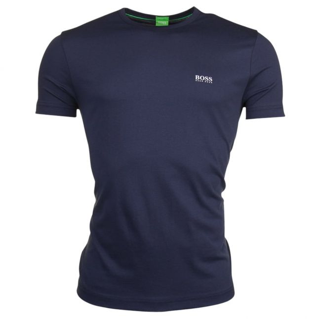 Athleisure Mens Navy Tee Small Logo S/s T Shirt