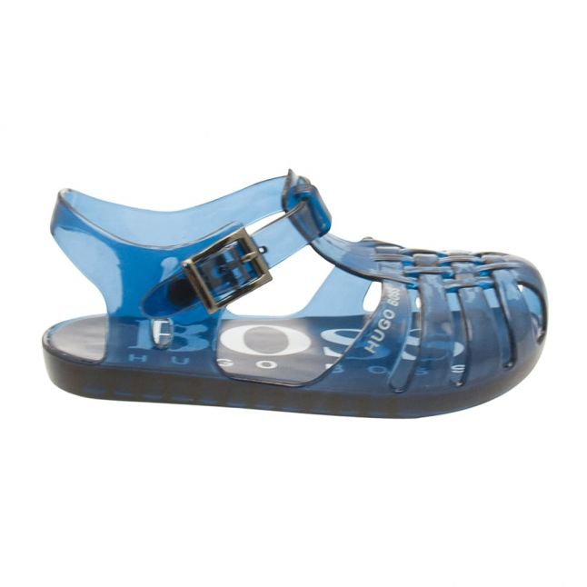 Baby Dusty Blue Jelly Sandals