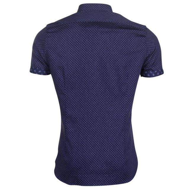 Mens Blue Indee S/s Shirt
