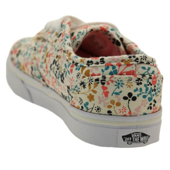 Kids Multi Atwood Low Floral Trainers (10-5)