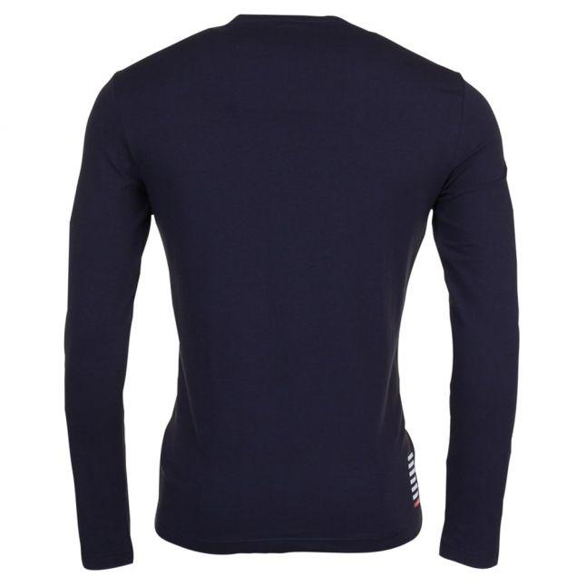Mens Night Blue Train Core ID L/s Tee Shirt