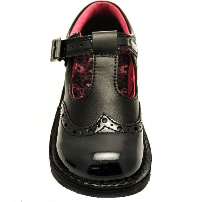 Junior Black Kick T Broge Shoes (12.5-2.5)