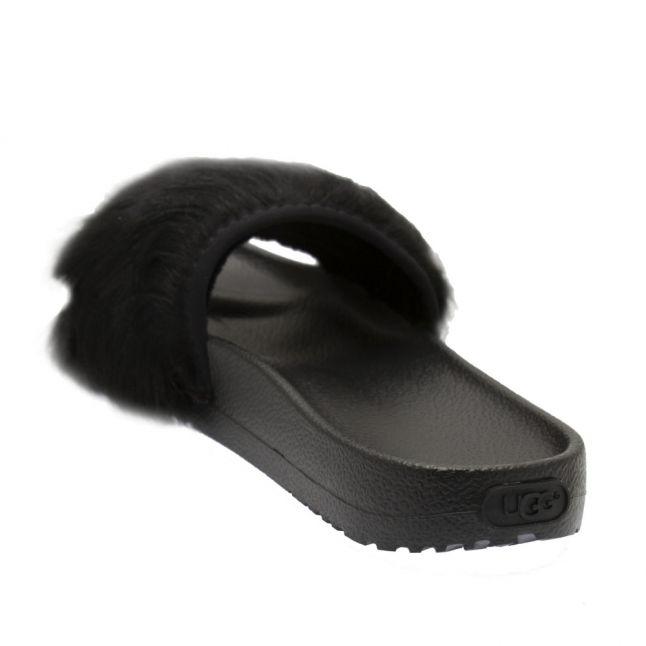 Womens Black Royale Slides