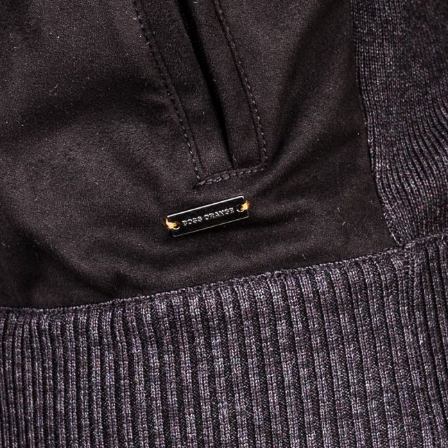 Boss Orange Mens Black Arbomer Knit