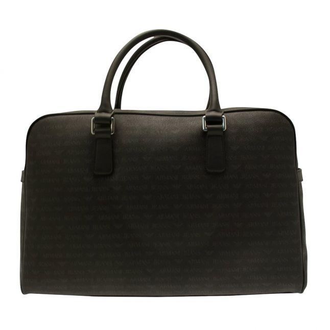 Mens Black Logo Travel Bag