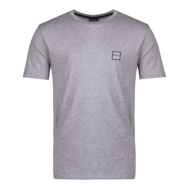 Mens Casual Light Grey Tales S/s T Shirt