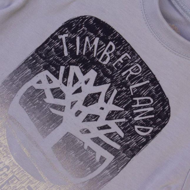 Baby Pale Blue Tree L/s Tee Shirt