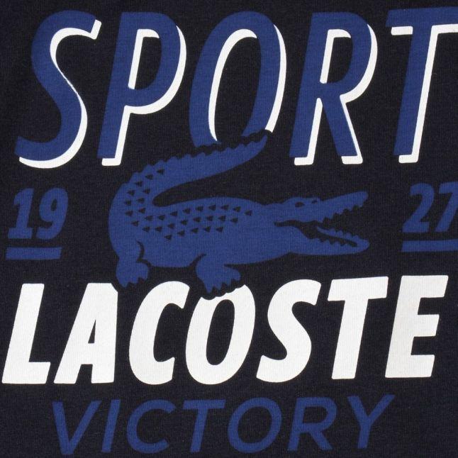 Boys Navy Sport Graphic S/s Tee Shirt