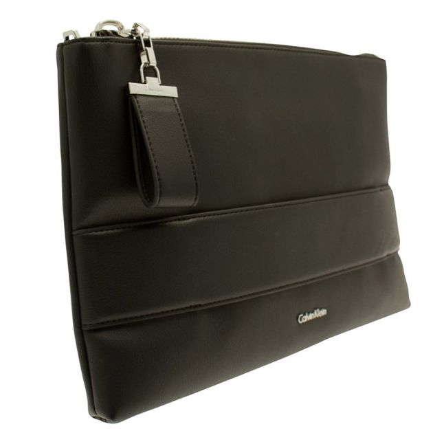 Womens Black Lucy Large Clutch Bag