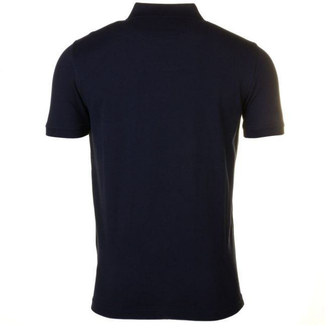 Mens Navy Cowes Regular Fit S/s Polo Shirt