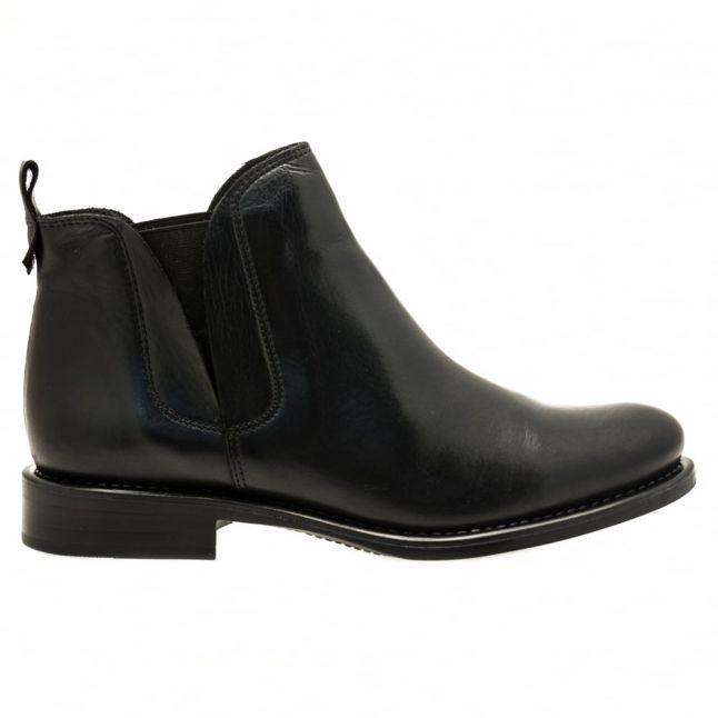 Womens Black Ametti Chelsea Boots