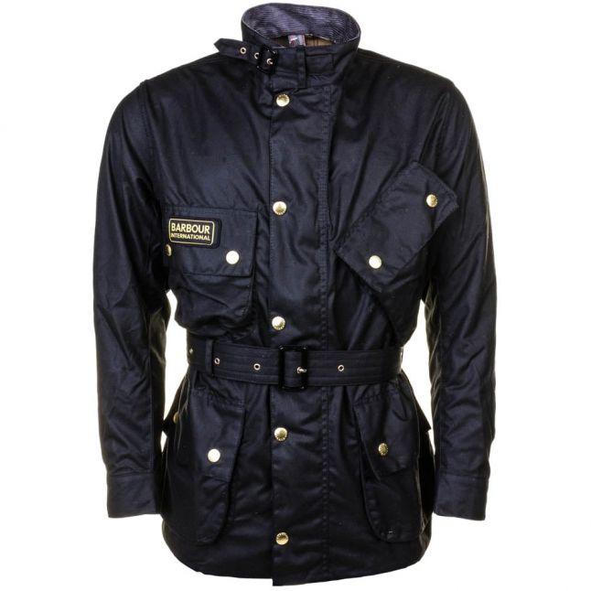 Mens Black International Original Waxed Jacket